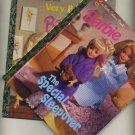 Lot of 2 Barbie Little Golden Books The Special Sleepover and Very Busy Barbie