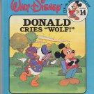 "Walt Disney Donald Cries ""Wolf!"" Vol. 14 Fun to Read Library"