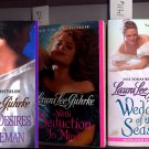 Lot of 3 Secret Desires, Seduction in Mind, Wedding Laura Lee Guhrke PB