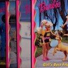 Lot of 4 Barbie Grolier Best Friend, Skates, Sea of Friends, Stars HC