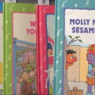 Lot of 4 Sesame Street Book Club Hardcover