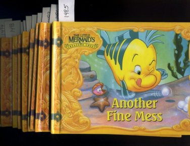 Lot of 10 Little Mermaid's Treasure Chest Books HC