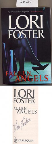 Fallen Angels by Lori Foster SC Signed