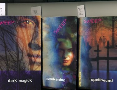 Lot of 3 Sweep #4 Dark Magick #5 Awakening #6 Spellbound by Cate Tiernan