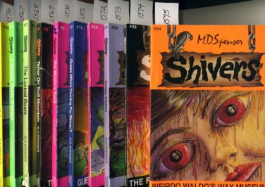 Lot of 10 Shivers by M.D. Spenser
