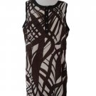 "Vertigo Paris by BCBG ""Crossings"" Dress Extra Large"