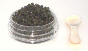 Royal Osetra Caviar Black Russian Caviar Russian Malossol Caviar 1/2 Ounce