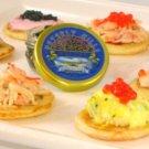Natural Truffle Blini :: Truffle Blini :: Caviar Blini :: Blini Canape