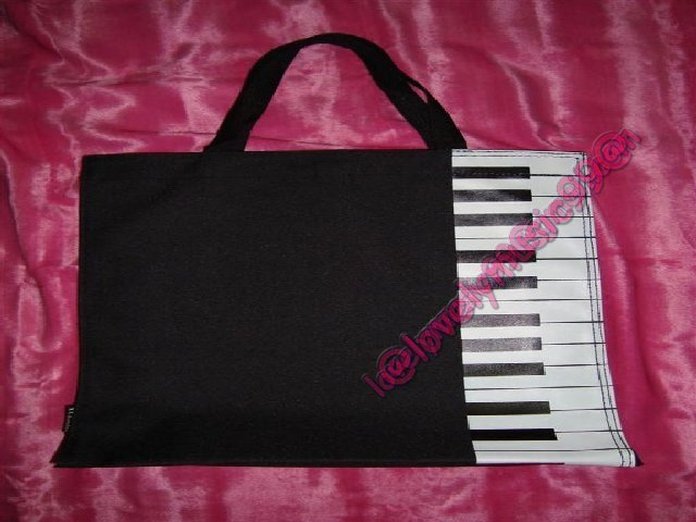 *PIANO* Frabric Bag From J'Serie NODAME CANTABILE in Black Colour Grade A+