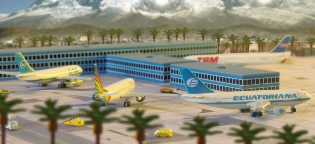 Herpa 1:500 Starter Set: South American Airport AS00002
