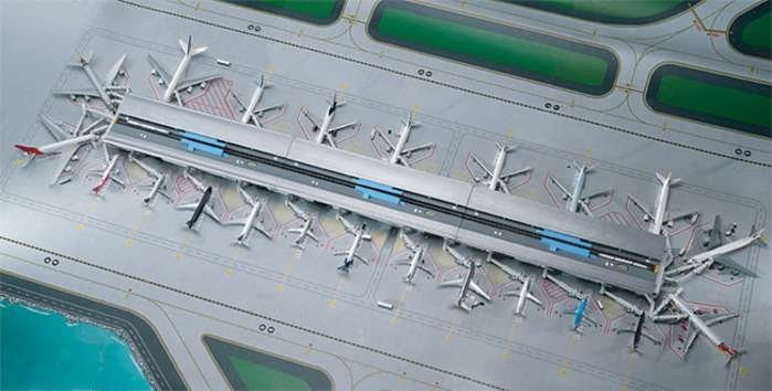 GeminiJets 1:400 Airport Terminal Set AS00003