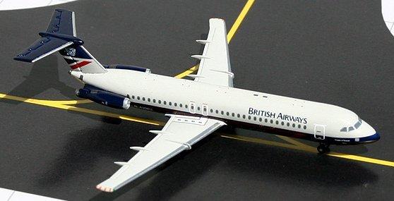 GeminiJets 1:400 British Airways BAC 111-500 Landor Colors BA00002