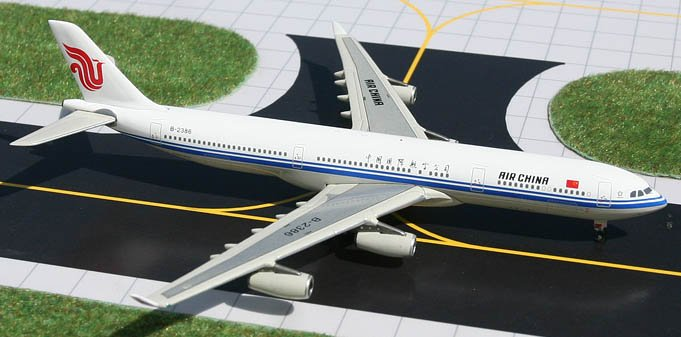 GeminiJets 1:400 Air China Airbus 340-300 C00001