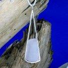 SSP105   Sterling Silver & Sea Glass Pendant