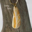 OBX122   Sea Shell Pendant fron the Outer Banks