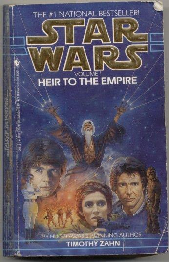 Star Wars Heir to the Empire Paperback Timothy Zahn