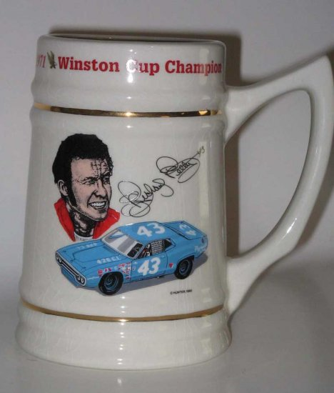 Richard Petty NASCAR Winston Cup Championship Stein
