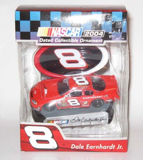 Dale Earnhardt Jr #8 Budweiser Chevrolet NASCAR Christmas Ornament