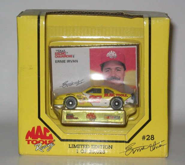 Ernie Irvan MacTools #28 Special Issue 1:64 Racing Champions NASCAR