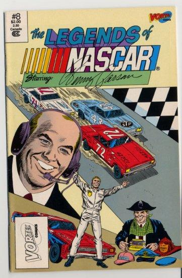 LEGENDS OF NASCAR Starring Benny Parsons #8 Vortex Comics