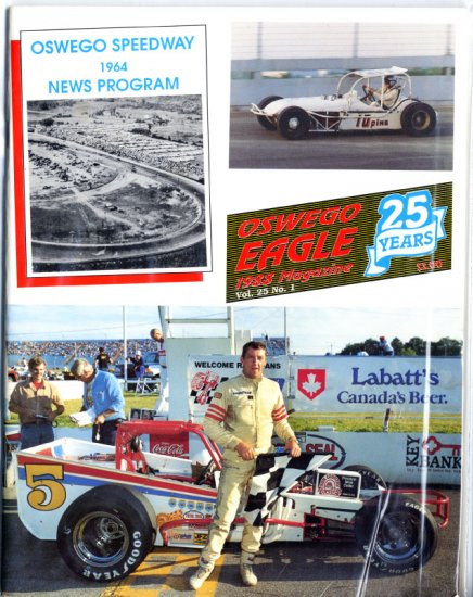 Oswego Speedway 1988 Program Bentley Warren