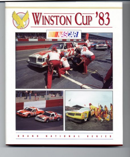 1983 NASCAR Winston Cup Yearbook Bobby Allison