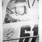 Vintage Richie Evans Gene's Machine Poster