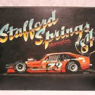Brian Ross Stafford Springs Modifieds Original Oil by Al DiMauro