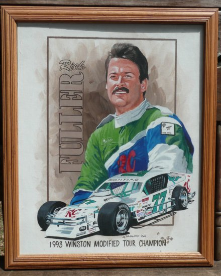 Rick Fuller 1993 Winston Modfiied Tour Champion Painting by Al DiMauro