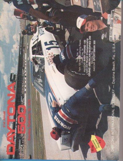 1979 21st ANNUAL DAYTONA 500 PROGRAM NASCAR  Winston Cup Grand National Speedweeks