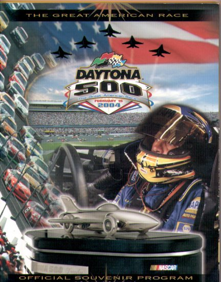2004 Daytona 500 NASCAR Official Program Nextel Cup Speedweeks