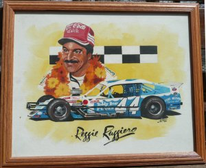 Reggie Ruggiero #44 Modified Tour Painting Al DiMauro