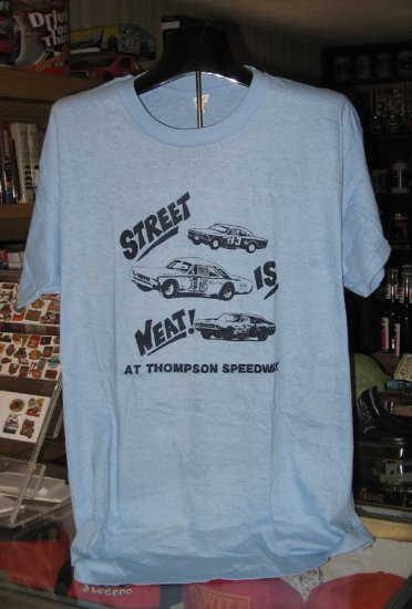 Thompson Speedway Street Is Neat! XL Tshirt  Stock Car Racing SH1505