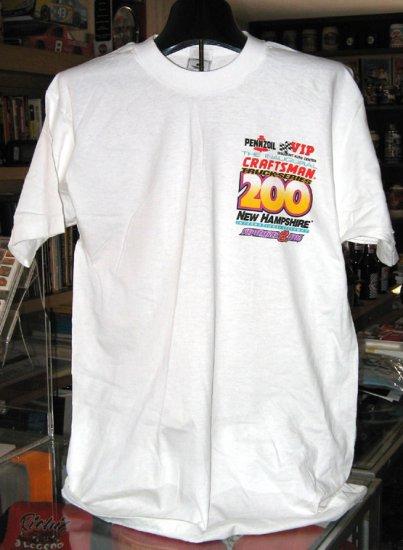 NHIS 1996 Inaugural Craftsman 200 Large Tshirt NASCAR NCTS SH6526