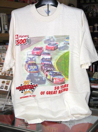 Martinsville Speedway 50th Years Hanes 500 XL Tshirt NASCAR