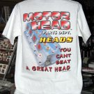 Motor Head Parts Dept. - Heads Large T-Shirt