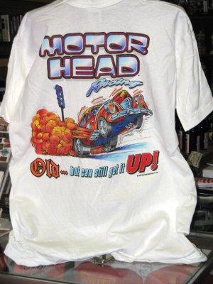 Motor Head Racing XXLarge White Tshirt