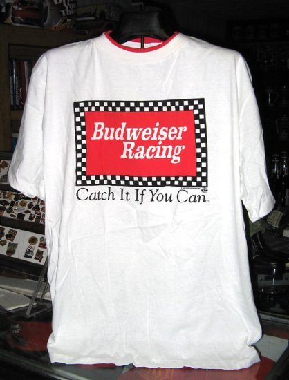 Budweiser Racing XLarge Tshirt