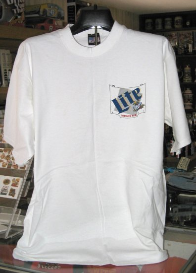 Loudon New Hampshire Miller Lite Large Tshirt Racing
