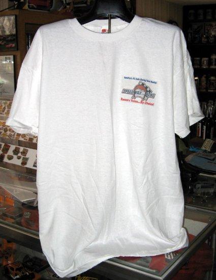 Speedway Scene Busch Grand National North BGNN Brain Teaser 3X Tshirt