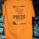 Oxford 250 1981 Press Tshirt Oxford Plains Speedway NASCAR