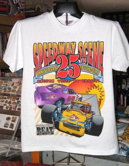 Speedway Scene 25th Anniversary Winston Cup Beat  Small Tshirt