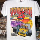 Speedway Scene 25th Anniversary Winston Cup Beat  Small Tshirt