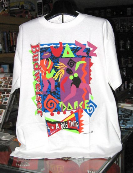 Budweiser Jazz Dance XL Tshirt