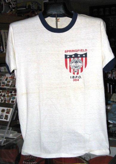 Springfield IBPD 364 Large Tshirt Police