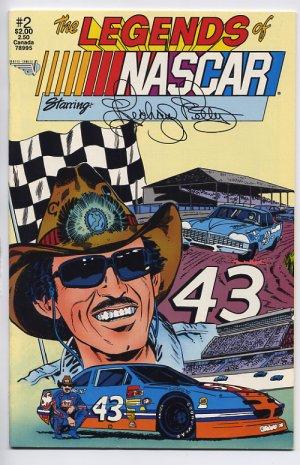 The Legends of NASCAR #2 Starring Richard Petty Vortex Comix