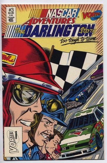 NASCAR Adventures #3 The Darlington Story Too Tough To Tame Vortex Comix