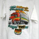 Road Warrior Driving School 18 Wheels XL T-Shirt