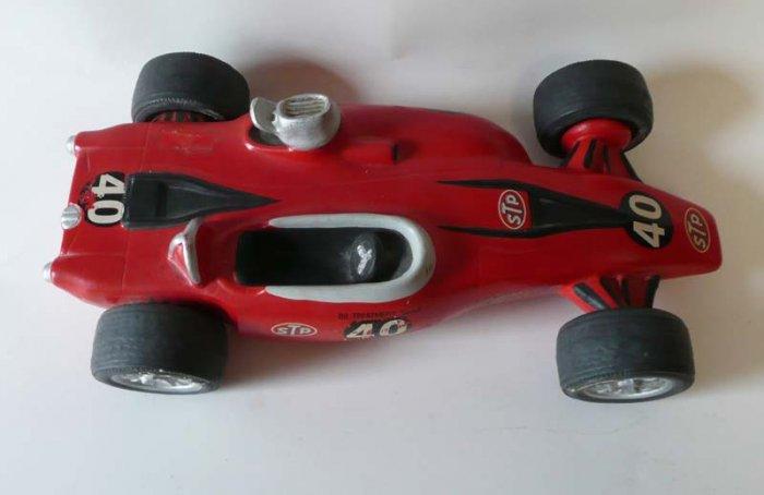 Indy STP Turbocar #40 Lionstone Decanter  Andy Grantelli