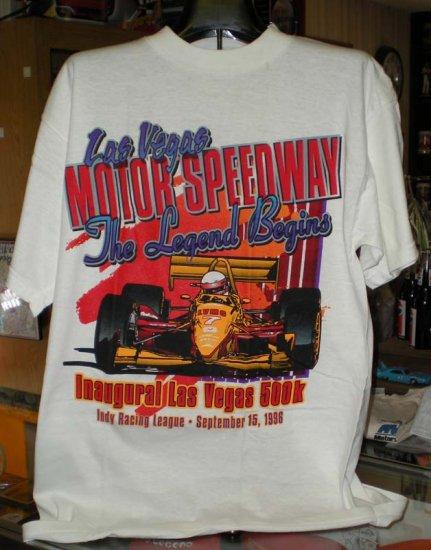 Las Vegas Motor Speedway Inaugural 500k 1996 XL Tshirt SH6054